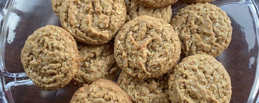 Potato-Free Coconut Cookies!