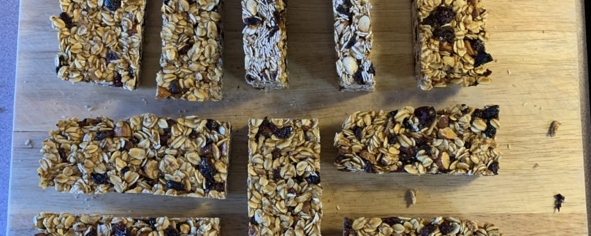 Granola Bars – Sugar and/or Fruit-Free!